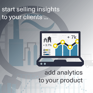 sell analytical insights to your clients using dashboards